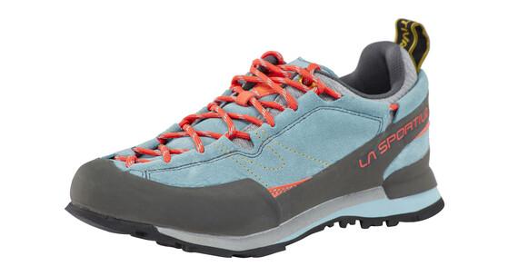 La Sportiva Boulder X - Calzado Mujer - gris/azul